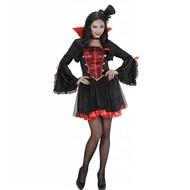 Halloweenkostuum dames vampier