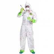 Halloweenkostuum dr. toxic jumpsuit