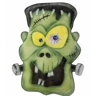 Halloweenaccessoires stoffen wanddecoratie monster