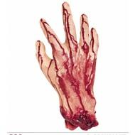Halloweenaccessoires: Afgehakte hand