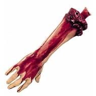 Halloweenaccessoires afgehakte arm