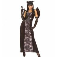 Gotische vleermuis jurk