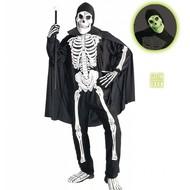 Halloweenkleding opera skelet