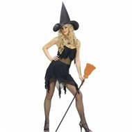 Halloweenkleding sexy heks