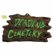 Halloweenaccessoires wanddecoratie begraafplaats