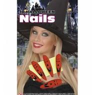 Halloweenaccessoires: Halloween nagels
