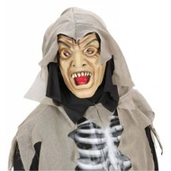 Halloweenaccessoires masker latex/schuim zombie