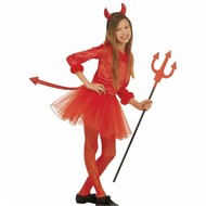 Halloween: Devils little girl