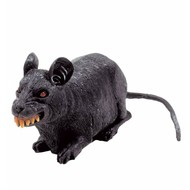 Halloweenaccessoires horror rat