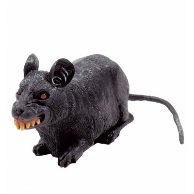 Halloweenaccessoires horror rat