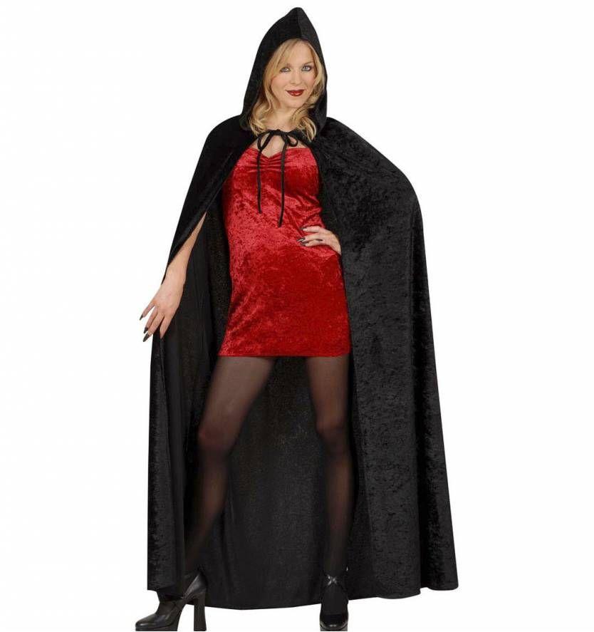 zwarte cape of mantel voor halloween. Black Bedroom Furniture Sets. Home Design Ideas