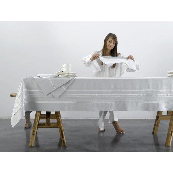 Quelea tafellinnen katoen