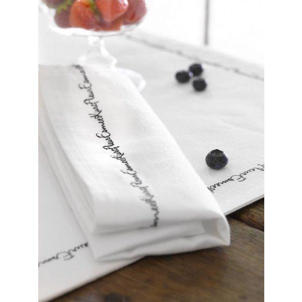 Nama katoenen servetten en placemats