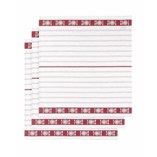 De Witte Lietaer droogdoek BML / Table red