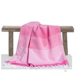 Fashion4Wellness Hamamdoek Deniz Size 4 - 100x200 roze (candy pink)