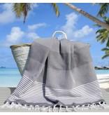 Fashion4Wellness Hamamdoek Deniz Size 4 - 100x200 antraciet
