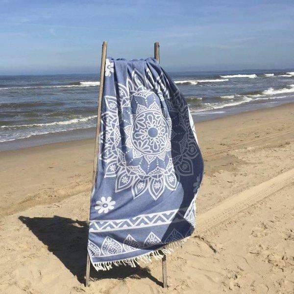 Hamamdoek Bohemian Marine blue