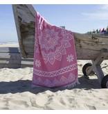 Fashion4Wellness Hamamdoek Bohemian Pink Candy
