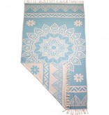 Fashion4Wellness Hamamdoek Bohemian Caribbean Turquoise