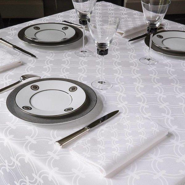 Anneaux blanc / white tafellinnen