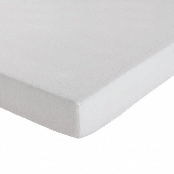 molton topper hoeslaken matrasbeschermer - voor soepele topmatrassen, dunnere kwaliteit