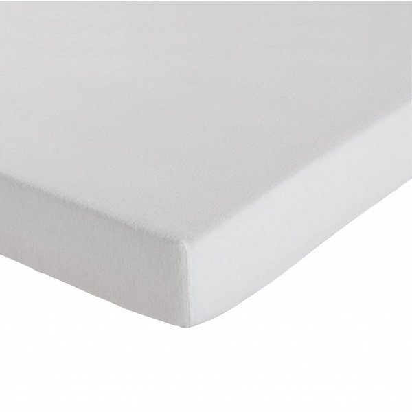 molton topper hoeslakenmodel matrasbeschermer, dunnere kwaliteit