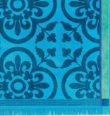 Le Jacquard Français Strandlaken Santorin turquoise