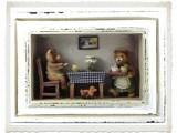 3-D Beren Schilderij