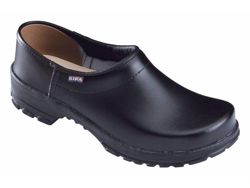Sika zwarte klompen 125 comfort OB