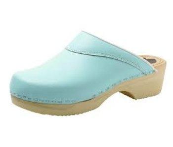 Bighorn 4010 buigzame dames clog blauw