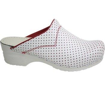 Sanita San-Flex Model 314 Perfo O.H. wit/rood