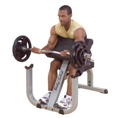 Body-Solid GPCB329 Preacher Curl Bench (Biceps)
