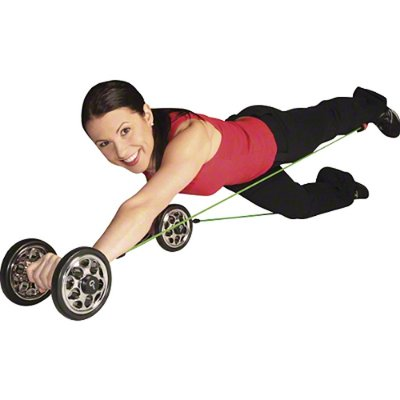 Gymstick Power Wheelz met DVD - medium of strong