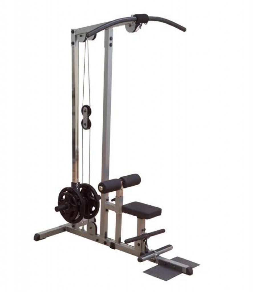 lat machine plate loaded de body solid glm84s lat pulldown is eenPlate Loaded Lat Pulldown Machine