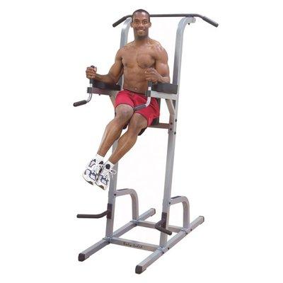 Body-Solid GVKR82 Vertical Knee Raise + Dips en Pull-Ups