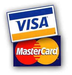 Betaal met Visa of Mastercard