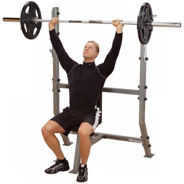 ProClubline SPB368G Shoulder Press Olympic Bench