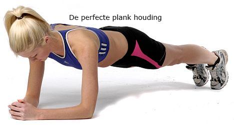 Buikspieroefening | planking