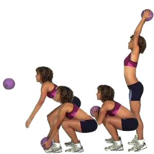 Slamball oefening