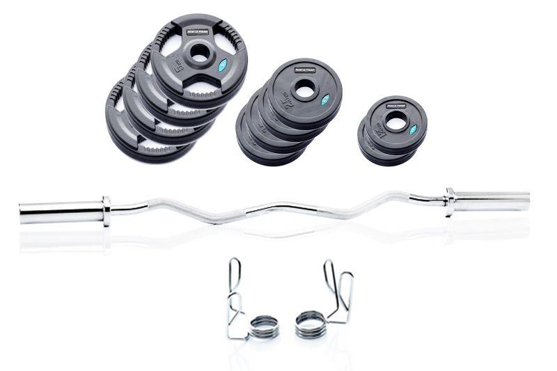 Muscle-Power Biceps Curl Set - 41 kg