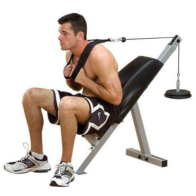 PowerLine AB-21X Seated Crunch Bench
