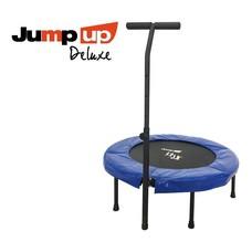 JUMP UP DELUXE Trampoline Set + DVD pakket - met T-bar