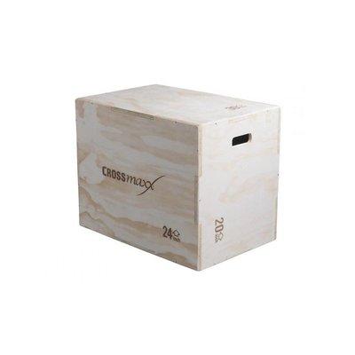 Crossmaxx LMX1296 Houten Plyo Box - 3 hoogtes