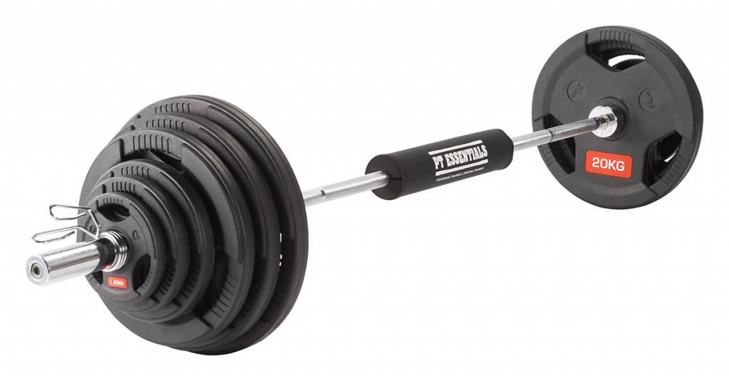 PTessentials POWERLIFTER Olympische halterset 97,5 kg