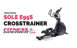 Review Sole E95s Crosstrainer