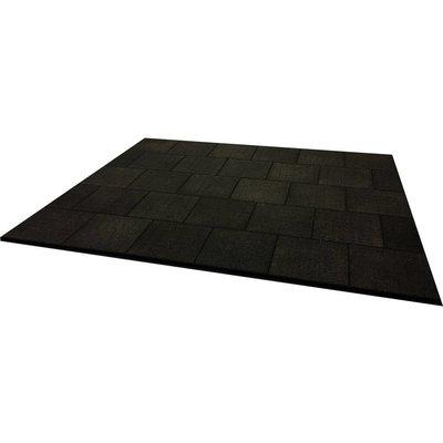 PTessentials Rubber Crossfit Vloer 3 x 2,5 meter | Power Rack Vloer