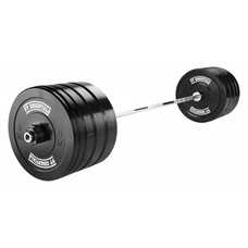 PTessentials CROSSFIT Bumperplate Halterset 90 kg