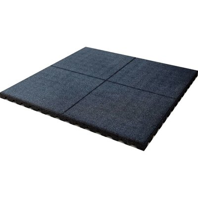 PTessentials Rubber Crossfit Tegel 100 x 100 cm met schijnvoeg
