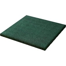 PTessentials Rubberen Vloerdelen 50 x 50 Groen| Fitness en Crossfit