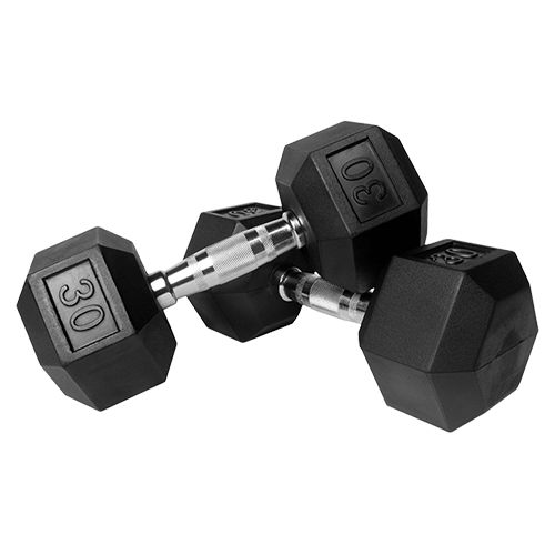 hex style dumbbells